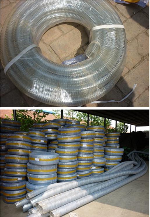 pvc steel wire hose packaging