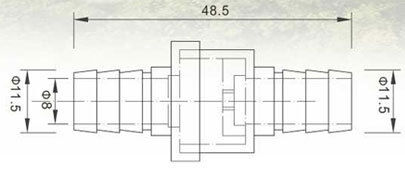 Check valve 10mm