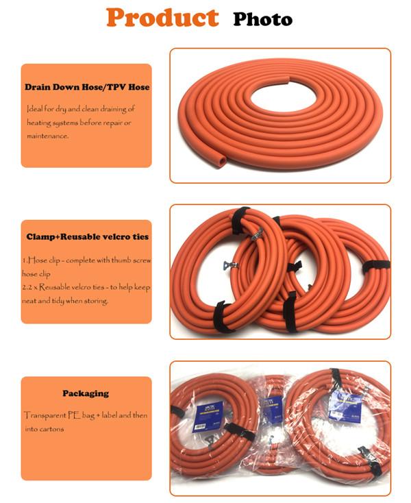 draindown hose