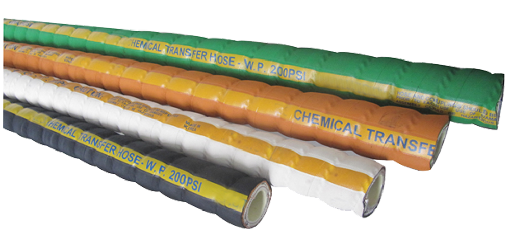 Corrugated UHMWPE Chemical Hose 200PSI